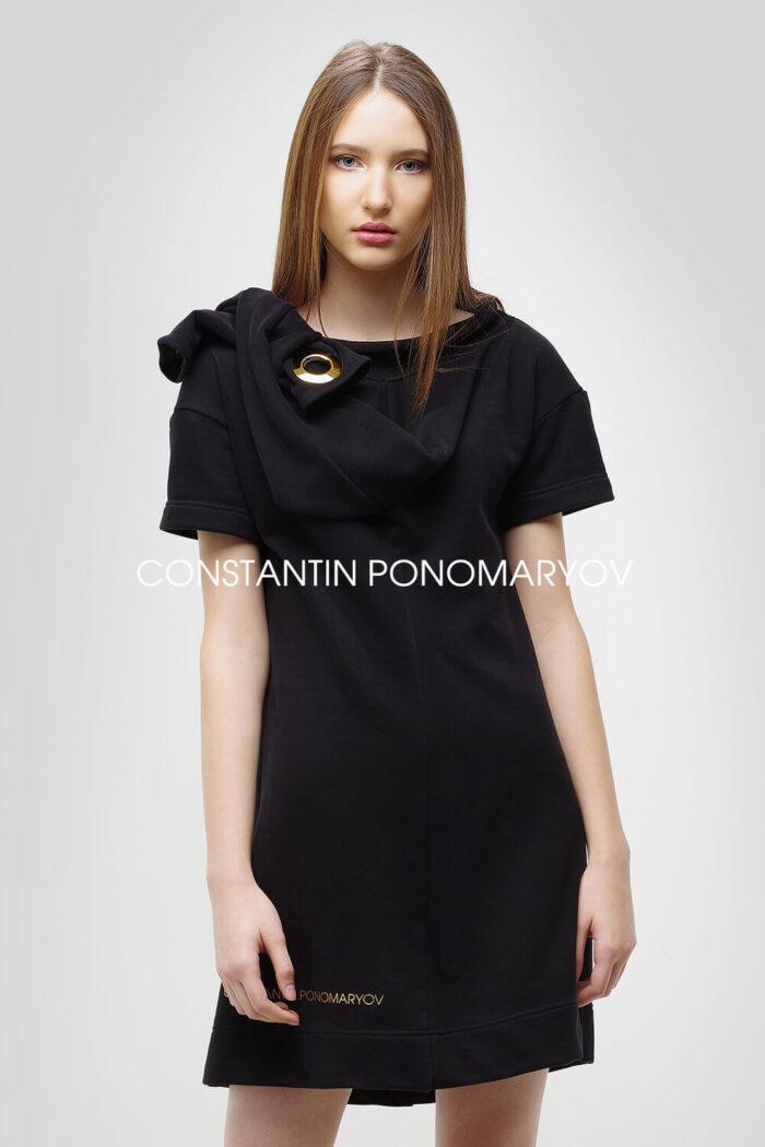Плаття-свiтшот чотири рукави. Концептуальна модель від Constantin Ponomaryov.
