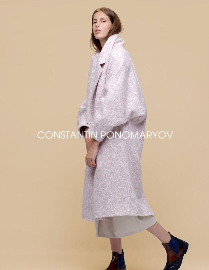 Женское демисезонное пальто oversize