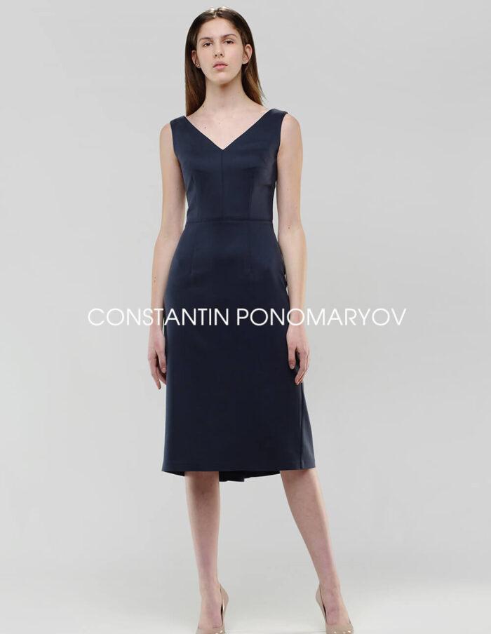 Платье интерпретирует знаменитую вещь от Christian Dior 40-х годов