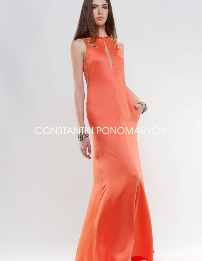 Вечернее платье «Персик»
