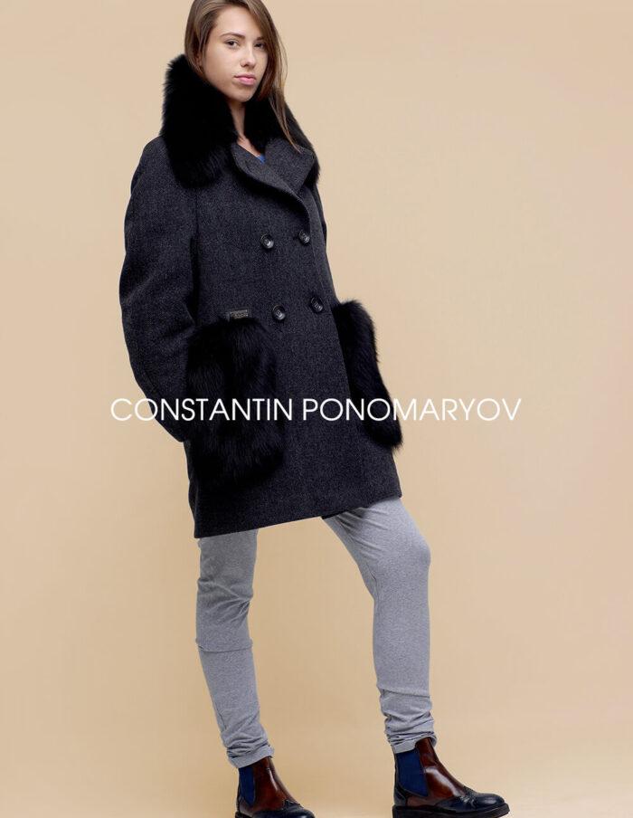 Бушлат, женское зимнее пальто